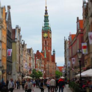 Ulica Długa. Gdańsk. Polska