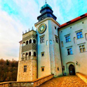 Zamek w Pieskowej skale.