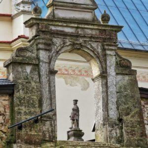 Klasztor w Grodzisku.